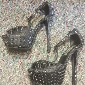 Rhinestone Heels / Shoes